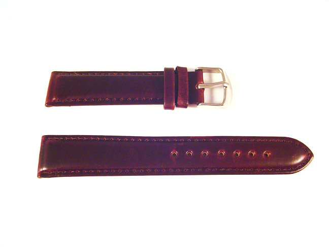 how to clean leather watch strap smell